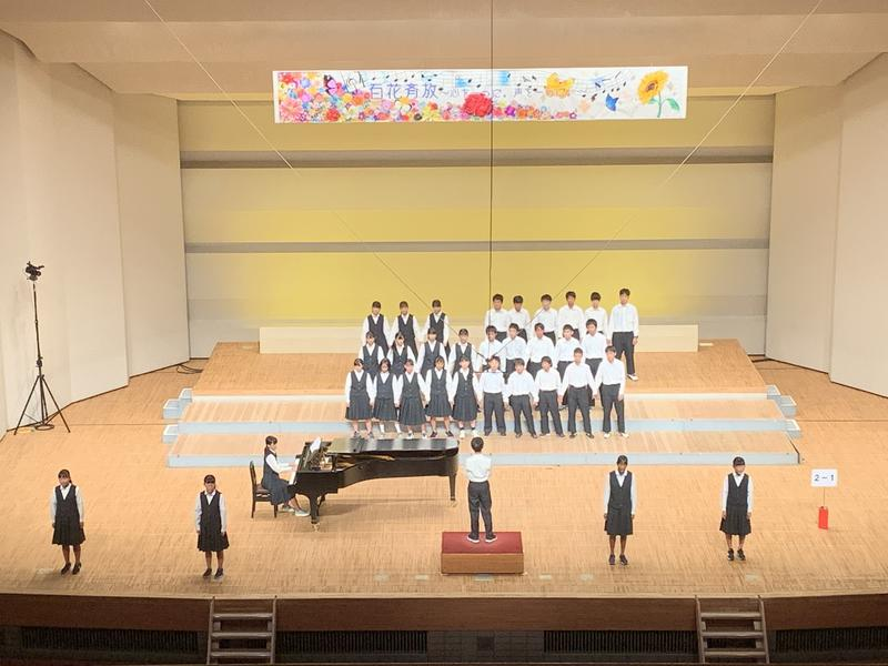 百花斉放(ひゃっかせいほう)の合唱