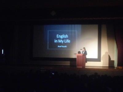 英語スピーチの発表