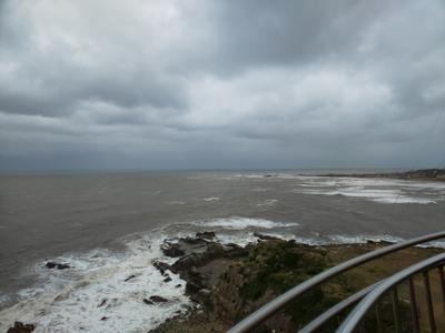 灯台の上から望む太平洋