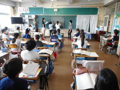 5年生の授業
